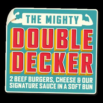 Better Tier Double Decker Sticker